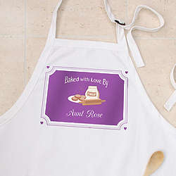Baked with Love Personalized Apron