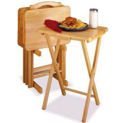 Beechwood Tray Tables
