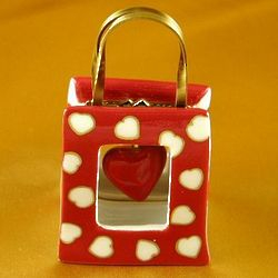 Limoges Valentine Heart Shopping Bag Box