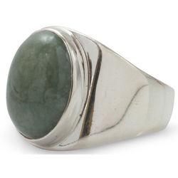 Men's Power of Life Jade Ring