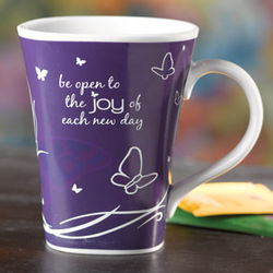 Be Open to the Joy Color-Changing Coffee Mug