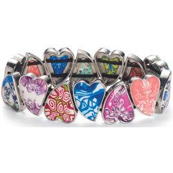 Clay Millefiori Bracelet