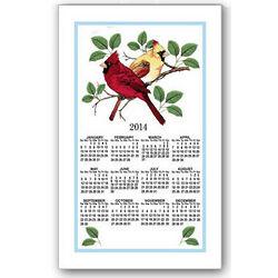 2014 Cardinals Calendar Towel