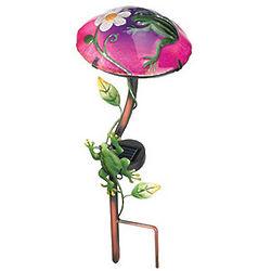 Frog Solar Powered LED Garden Light