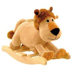 Leonard the Lion Toddler Rocker with Sound