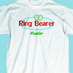Ring Bearer Retro Youth T-Shirt