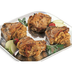 Six Stuffed Pork Chops