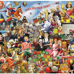 Crazy Toys Jigsaw Puzzle