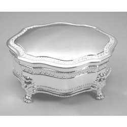 Engraved Princess Victorian Jewelry Box