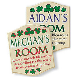 Child's Personalized Name Plaque