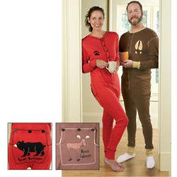 Bear Bottom Drop-Seat Pajamas