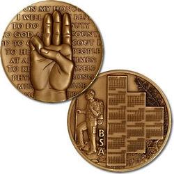Boy Scouts of America 2012 Scout Oath Calendar Medal