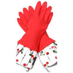 Very Cherry Rubber Gloves