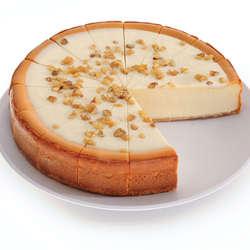 """9"""" Banana Cream Cheesecake"""