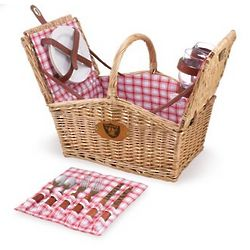 Oakland Raiders Piccadilly Willow Picnic Basket