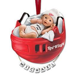 NHL Personalized Baby's First Ornament