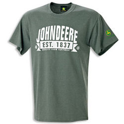 John Deere Antique Heather T-Shirt
