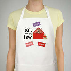 Sent with Love Personalized Apron