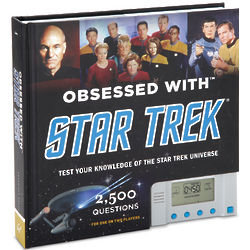 Obsessed with Star Trek Trivia Challenge Game
