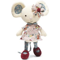 Gorgeous Girly Mouse Plush
