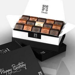 Start the Festivities French Chocolates Birthday Gift Box