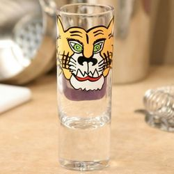 LSU Tigers Hand-Painted Shot Glass