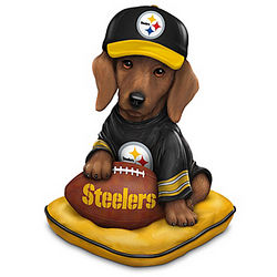 Sunday Afternoon Quarter-Bark Pittsburgh Steelers Figurine