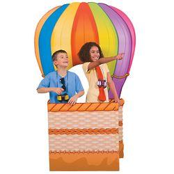 Hot Air Balloon 3D Standee