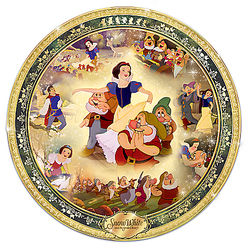 Snow White and The Seven Dwarfs 80th Anniversary Plate