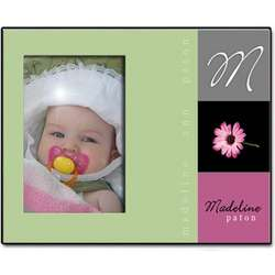 Personalized Daisy Picture Frame
