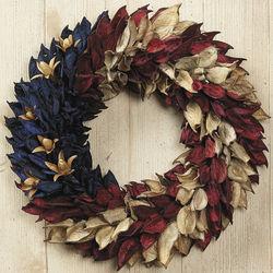 Americana Pod Wreath