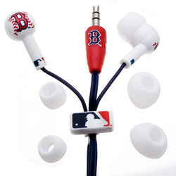 Red Sox Logo Earphones