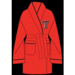 Ladies Texas Tech Solid Cozy Robe