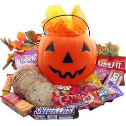 Snack-O-Lantern Pumpkin Gift Bucket