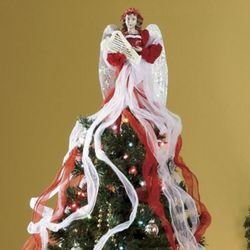 Ribbon Angel Tree Topper