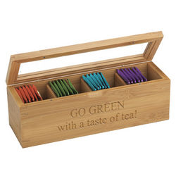 Eco-Friendly Bamboo Tea Gift Box