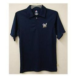 Milwaukee Brewers Mens Polo Shirt