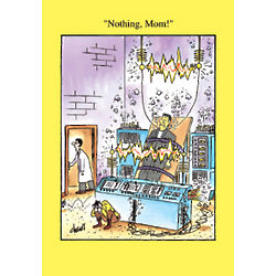 Nothing Mom Funny Mother's Day Greeting Card