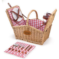 Philadelphia Eagles Piccadilly Willow Picnic Basket