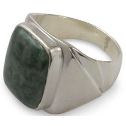 Men's Fortitude Jade Ring