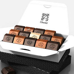zBox 15 Chic and Modern French Chocolates Gift Box