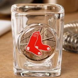 Boston Red Sox Realtree Camo Shot Glass