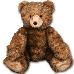 Personalized Brown Bruiser Teddy Bear