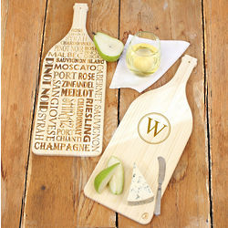 Reversible Wine Serving Board
