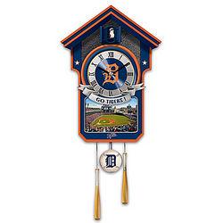 Detroit Tigers Cuckoo Clock