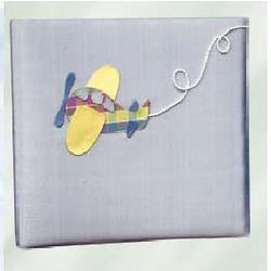 Personalized Airplane Baby Photo Album