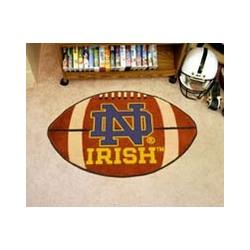 Notre Dame Football Mat