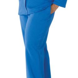 Open Side Fleece Pants with Velcro® Fasteners