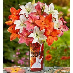 Dad Rocks Flower Bouquet