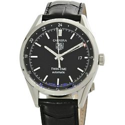 Mens Carrera Twin-Time Watch
